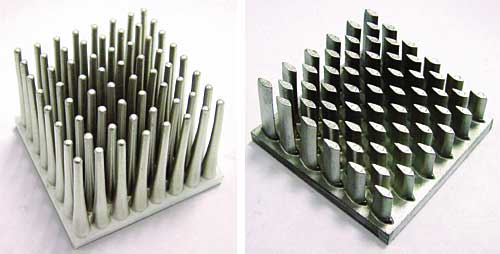 Metal Injection Molding Of Heat Sinks Electronics Cooling