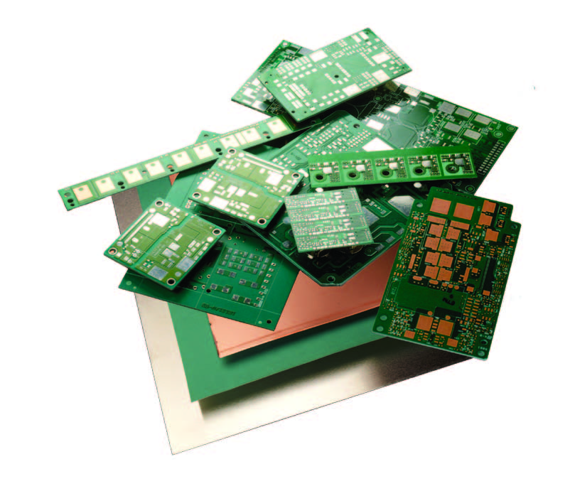 thermally conductive printed circuit board substrate electronics rh electronics cooling com Printed Circuit Board Parts Printed Board Cercut