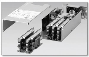 Figure 4. High-density packaging electronic equipment with axial fan (SMPS).
